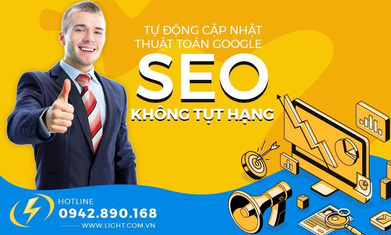 Thiết kế website chuẩn SEO - SEO không tụt hạng