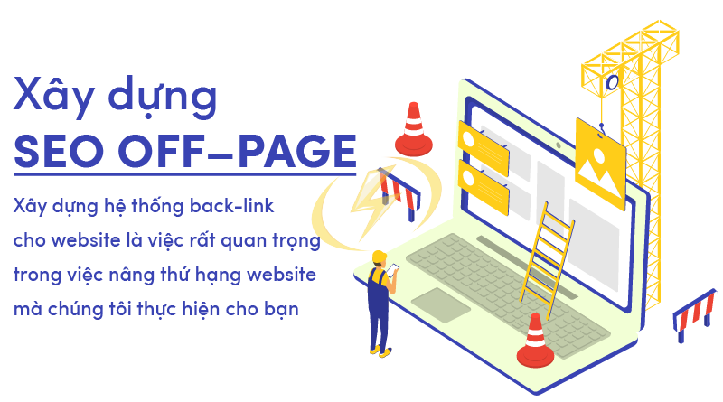 Xây dựng SEO OFF–PAGE website